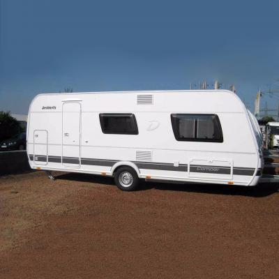 Der Familien-Caravan Dethleffs Camper 530 FSK